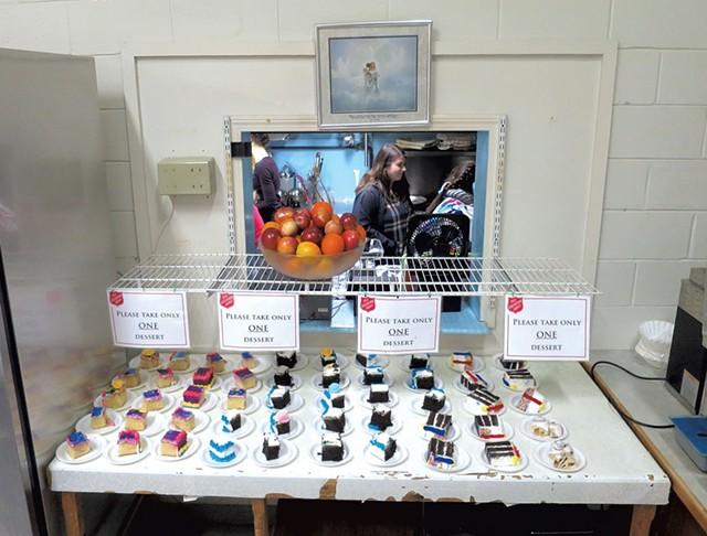 Desserts at the Salvation Army - MATTHEW THORSEN