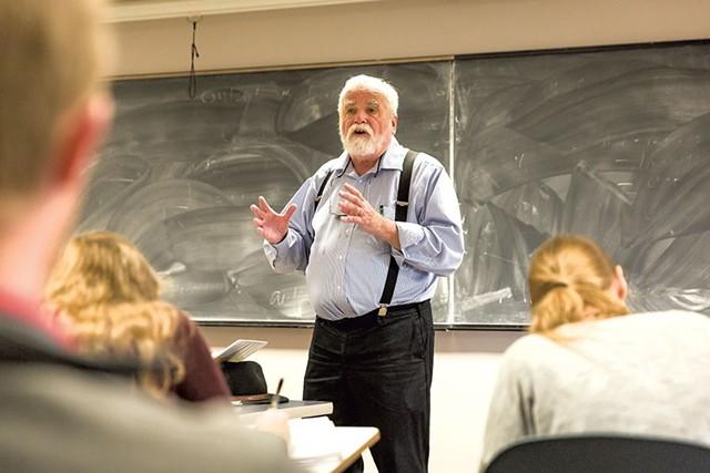 Garrison Nelson teaching a class - OLIVER PARINI