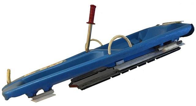 A 20th-century sled - SALLY POLLAK