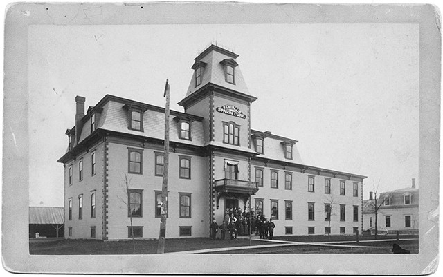 Spavin Cure Building - COURTESY OF H. BROOKE PAIGE