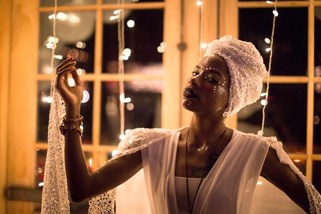 Ngonda Badila of  Lady Moon & the Eclipse - COURTESY OF LUKE AWTRY PHOTOGRAPHY