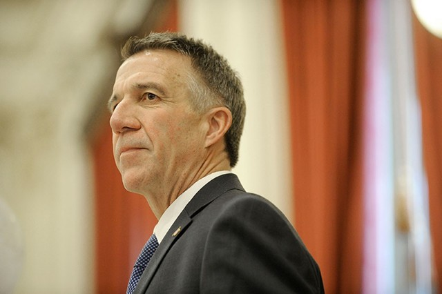 Gov. Phil Scott - FILE: JEB WALLACE-BRODEUR