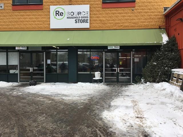 ReSOURCE storefront in Burlington - SADIE WILLIAMS