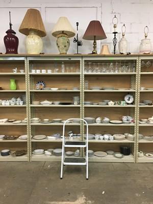 Home goods at ReSOURCE in Burlington - SADIE WILLIAMS