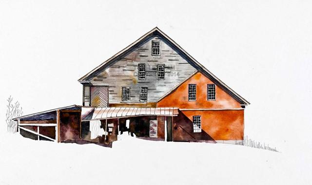 """""""Tunbridge Mill"""" by Tom Leytham - COURTESY OF TOM LEYTHAM"""