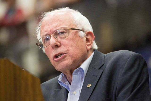 Sen. Bernie Sanders - FILE: ERIC TADSEN