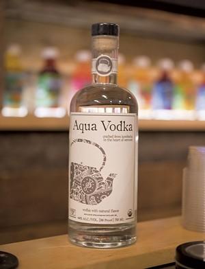 Aqua Vodka - CALEB KENNA