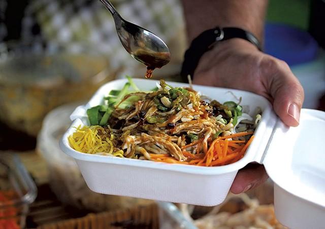 Sesame noodles - COURTESY OF GINGERFIELD NOODLES