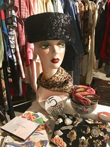 Billie Jean Vintage's booth - SADIE WILLIAMS