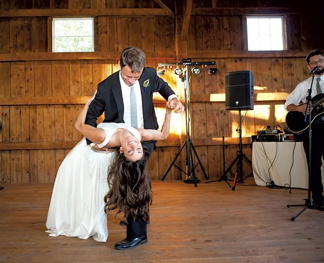 Jessica Bridge and Chris Mason - COURTESY OF BEN HUDSON PHOTOGRAPHY