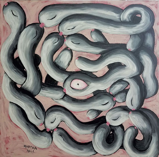 """Worm Orgy"" by Martha Hull"