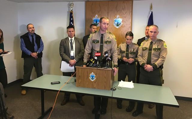 Vermont State Police Col. Matt Birmingham - MARK DAVIS