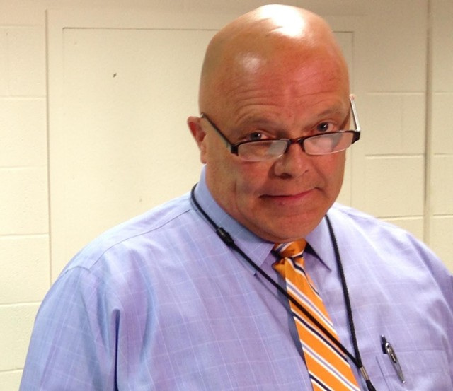Former Burlington School Board chair Mark Porter - MOLLY WALSH
