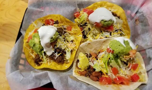 Tacos at La Casa Burrito - COURTESY OF LA CASA BURRITO
