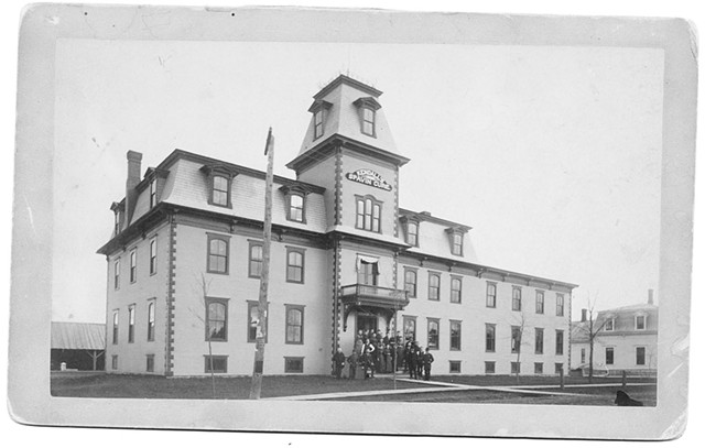 The Spavin Cure Building, circa 1890 - COURTESY OF H. BROOKE PAIGE