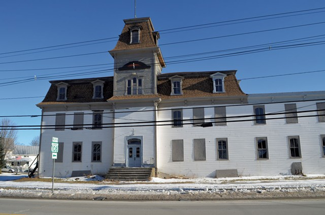 The Spavin Cure Building today - KEN PICARD