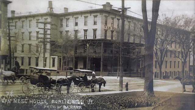 Van Ness House postcard, June 4, 1907