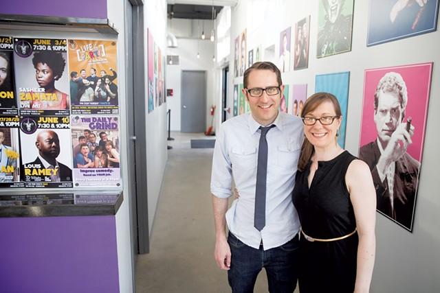 Nathan Hartswick and Natalie Miller - FILE: JAMES BUCK
