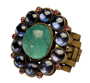"""""""Ring"""" by Marie Zimmermann - COURTESY OF SHELBURNE MUSEUM"""