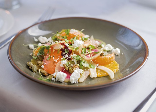 The Kitchen Table Bistro's citrus salad - OLIVER PARINI