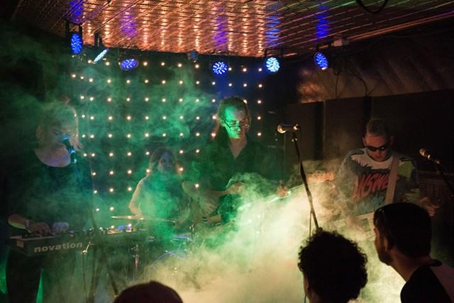 Future Punx  playing at Monkey House - COURTESY OF LUKE AWTRY PHOTOGRAPHY