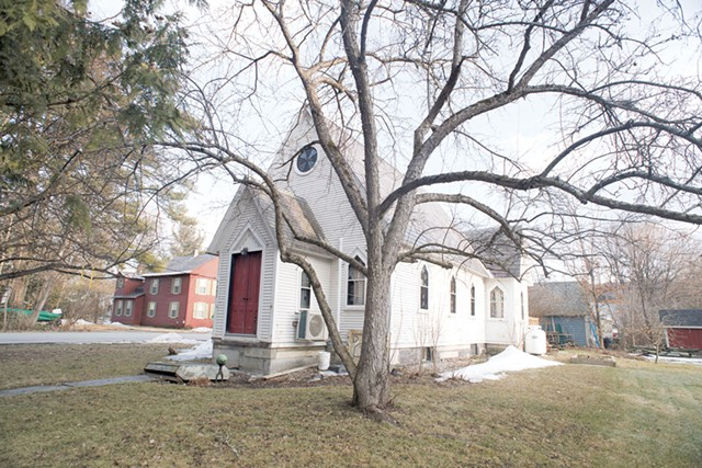 The exterior of the former St. Mark's Church - CALEB KENNA