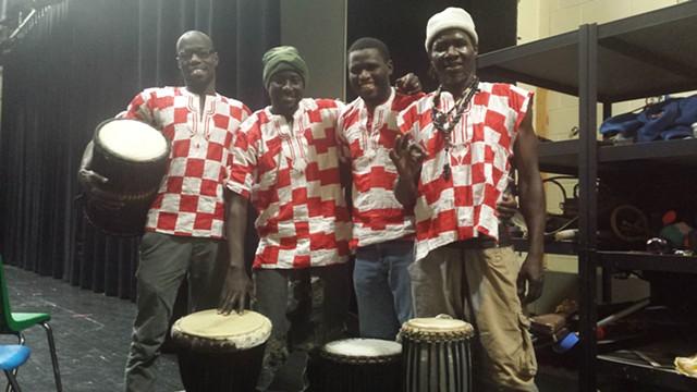 Africa Jamono, left to right: Ali Dieng, Mamadou Gueye, Pape Ba, Mame Assane Coly - KYMELYA SARI