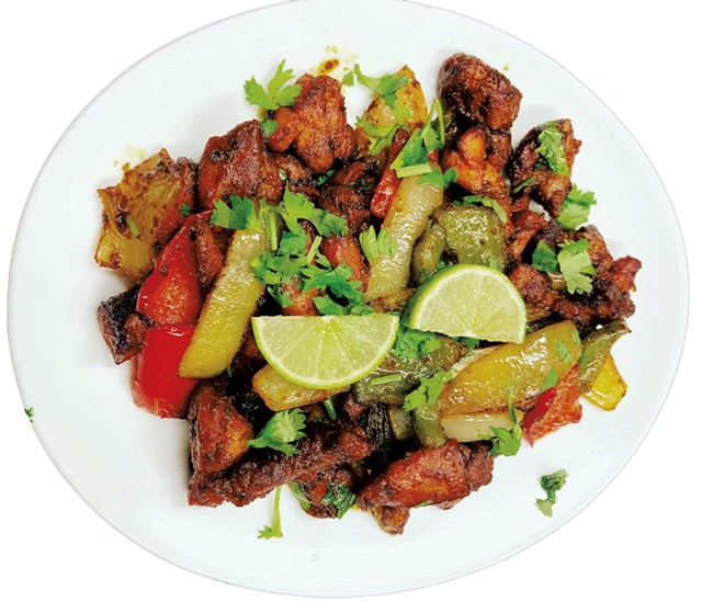 Indian specialties at Nepali Kitchen in Essex Junction - COURTESY OF JEETAN KHADKA