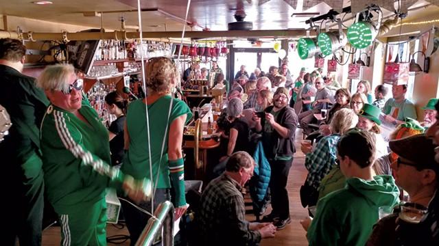 Everyone's Favorite Irish Drinking Songs Band at Red Square - JORDAN ADAMS