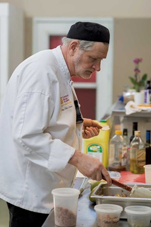 Chef instructor Jim Logan - PHOTOS: OLIVER PARINI