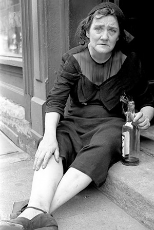 Drunk woman by James P. Blair - COURTESY OF JAMES P. BLAIR
