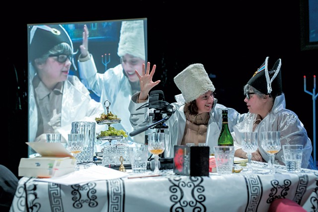 Gob Squad in War and Peace - PHOTOS: COURTESY OF HOPKINS CENTER FOR THE ARTS