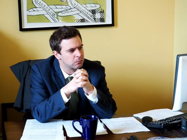 Senate President Pro Tempore Tim Ashe (D-Chittenden) - TAYLOR DOBBS