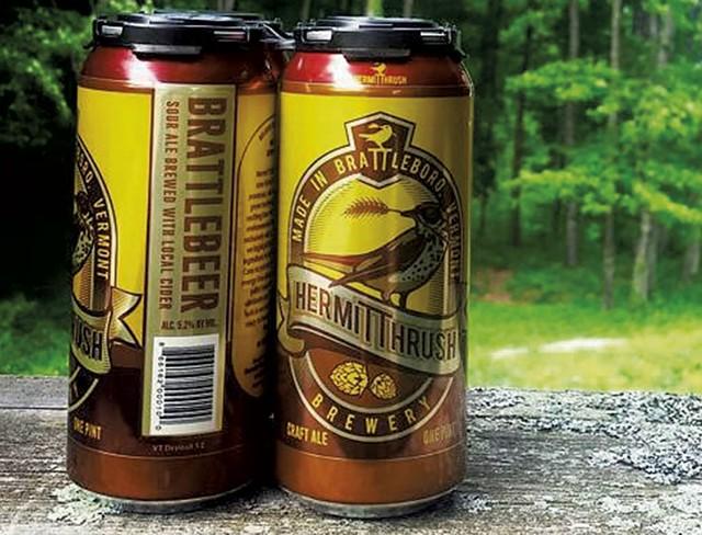 Hermit Thrush Brewery's Brattlebeer - COURTESY OF HERMIT THRUSH BREWERY