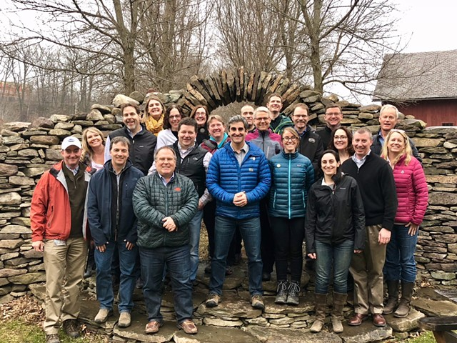 City department heads and leadership staff - COURTESY OF THE BURLINGTON MAYOR'S OFFICE