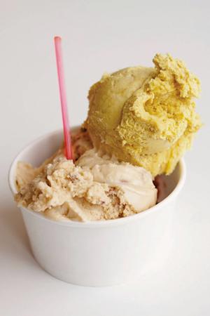 Slumdog Millionaire and maple walnut ice cream - COURTESY OF LU•LU ICE CREAM