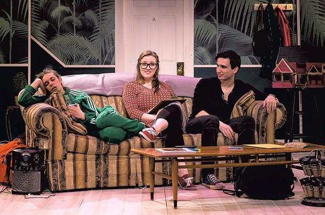 From left: Francesca Blanchard, Katherine Reid and Anthony DePalma - COURTESY OF LINDSAY RAYMONDJACK