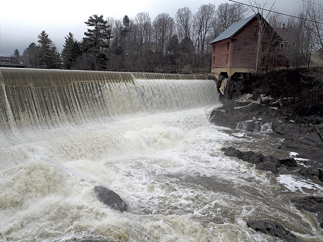 Dam on the Lamoille River