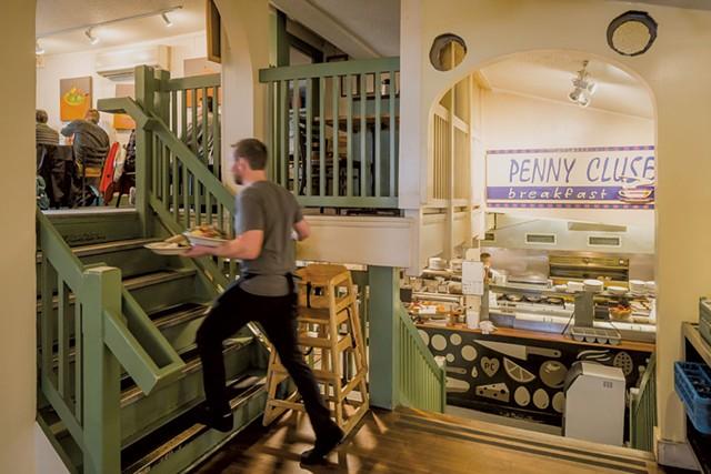 Penny Cluse Café - OLIVER PARINI