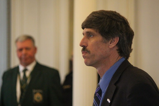 Sen. John Rodgers at the Vermont Statehouse - FILE: PAUL HEINTZ