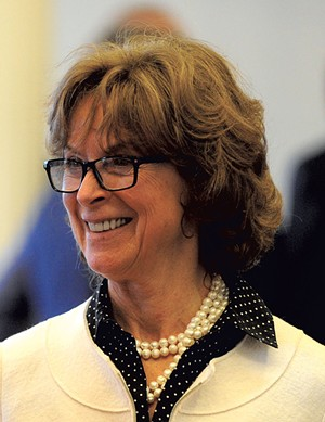 Sen. Claire Ayer - D-Addison - Senate Health and Welfare Committee - Legislator since 2003; chair since 2011 - JEB WALLACE-BRODEUR