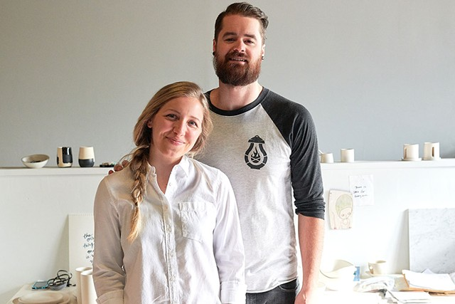 Brielle and Mitch Rovito - PHOTO: BEAR CIERI