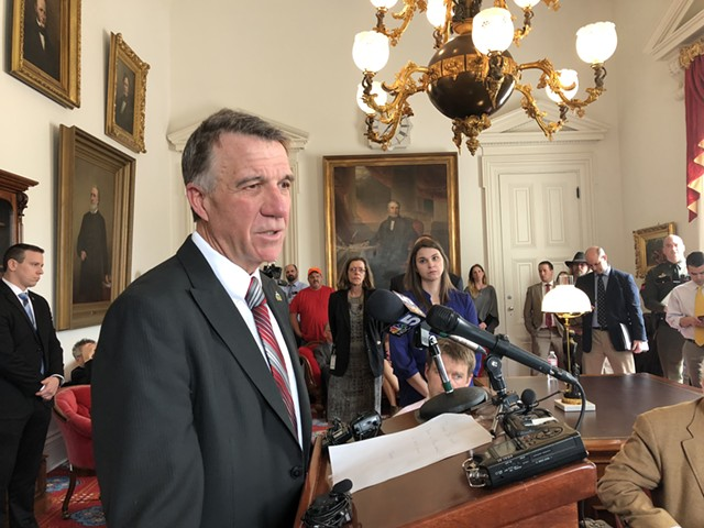 Gov. Phil Scott - ALICIA FREESE