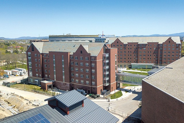 A new residence hall - JAMES BUCK