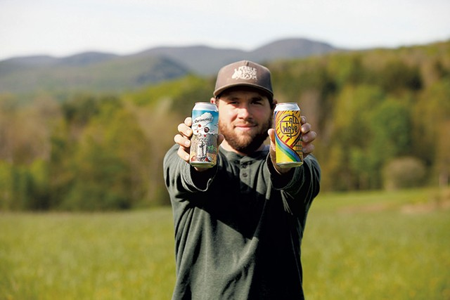 Mike Czok of Bent Hill Brewery - COURTESY OF CHIP ALLEN PHOTO