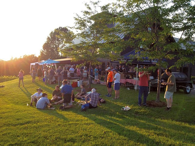 Bluegrass and Barbecue - COURTESY OF SHELBURNE VINEYARD