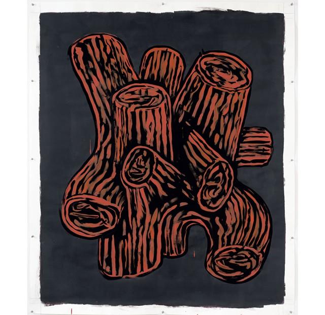 """Knot"" by Patrick Dunfey - ARTWORK COURTESY OF HALL ART FOUNDATION"