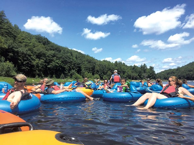 Tubing on the White River