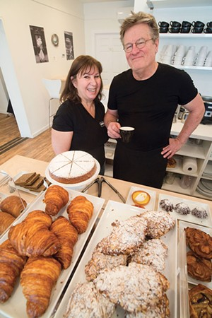 Co-owners Annie Bakst and Robert Hunt - JEB WALLACE-BRODEUR