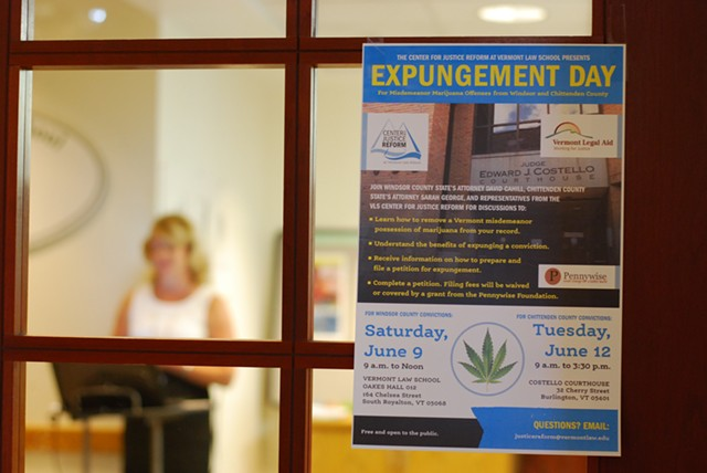 Opening the door to Expungement Day - SARA TABIN
